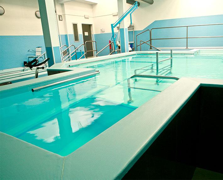 vasca per idrochinesiterapia: fisioterapia in acqua