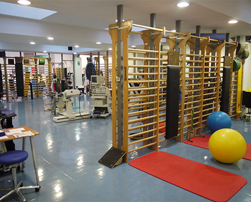 palestra per fisioterapia e rieducazione funzionale